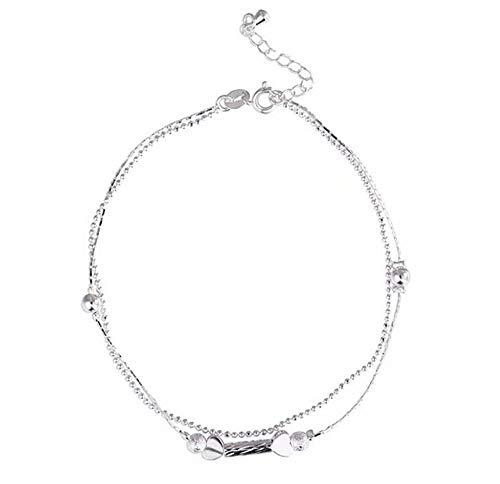 Bokeley Hemp Rope Women Chain Ankle Bracelet Barefoot Sandal Beach Foot Jewelry