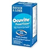 OCUVITE PRESERVISION 120Tablets Review