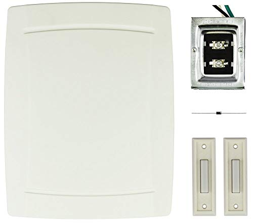 DW-2403A Wired 8 note Doorbell/Chime kit