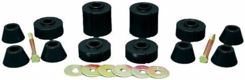 Prothane 7-104-BL Black Bushing Kit (Body Mount 12)