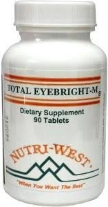 Total Eyebright-M - 90 Tablets by Nutri West (Tabs 90 Eyes)