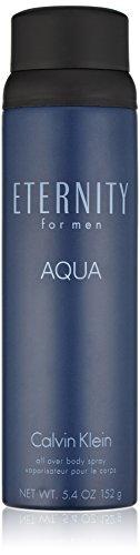 Calvin Klein ETERNITY for Men AQUA Body Spray, 5.4 oz.