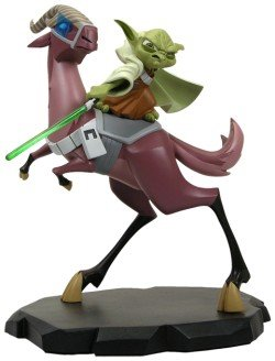 Star Wars: Clone Wars Yoda on Kybuck Maquette