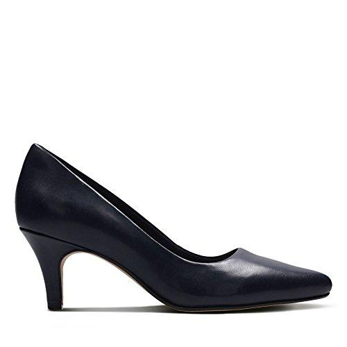 Clarks Women's Isidora Faye Closed Toe Heels, Beige, 6.5 UK Blue