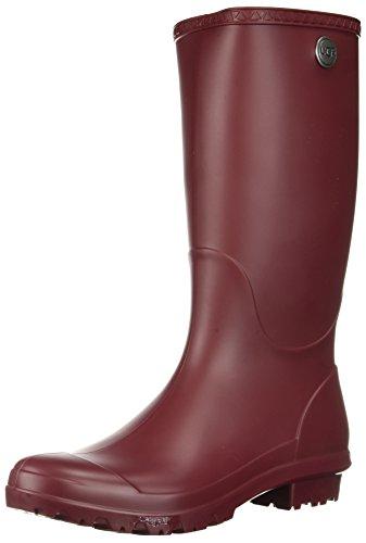 UGG Women's Shelby Matte Rain Boot, Garnet, 8 M US (In Uggs The Rain)