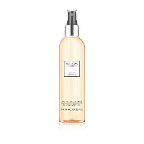 Vera Wang Embrace Body Mist for Women Marigold and Gardenia Scent, 8 Ounce Body Mist Spray Dreamy Floral and Warm Fragrance (Vera Wang Anniversary Perfume)