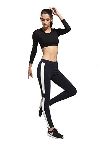 Femmes mosane haute extensible Sport Course à Pied Pantalon yoga Entraînement Fitness pour Femme étudiants pour femme