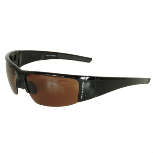 Tour de France Tremble Sunglasses (Shiny Black , Universal - France Sunglasses De Tour