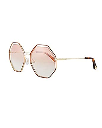 e16fe881022 Image Unavailable. Image not available for. Color  Chloe Poppy Geometric  Sunglasses ...