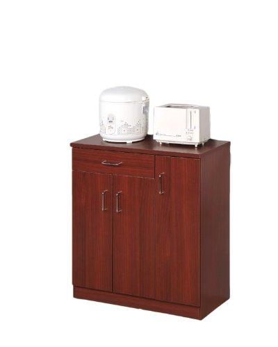 Amazon.com: Cocina Microondas Stand acabado en cerezo ...