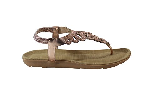 By Shoes - Sandalias para Mujer Champagne