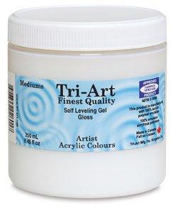Tri-Art Polymer Artist Mediums, 500ml, Semi Gloss