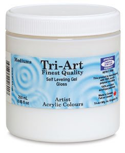 Tri-Art Polymer Artist Mediums, 250ml, Semi Gloss by Tri-Art