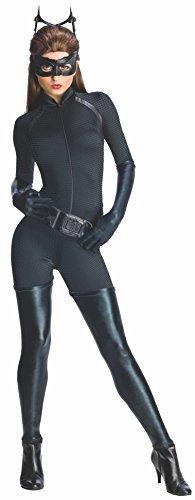 Rubies Dark Knight Rises Ladies Catwoman Fancy Dress Costume, Size L (UK 14-16) by (Dark Knight Catwoman Costumes Uk)