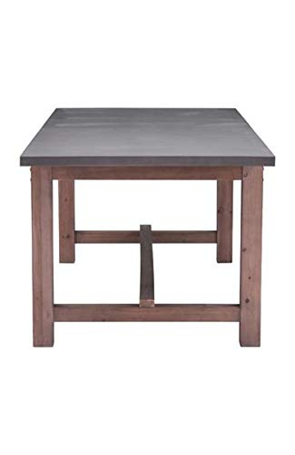 87'' Gray & Fir Wood Conference Table or Desk