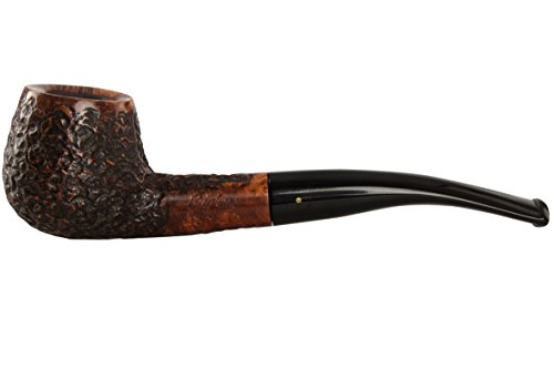 Brandy Bent - Brigham Voyageur 136 Tobacco Pipe - Bent Brandy Rustic