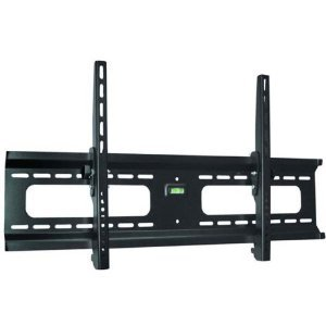 Low Profile Black Adjustable Tilt/Tilting Wall Mount Bracket for LG 42PJ350 42