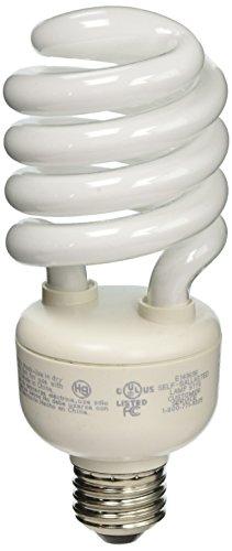 (TCP 18227 CFL Spring Lamp - 100 Watt Equivalent (only 27W used!) Soft White (2700K) HPF Spiral Light Bulb)