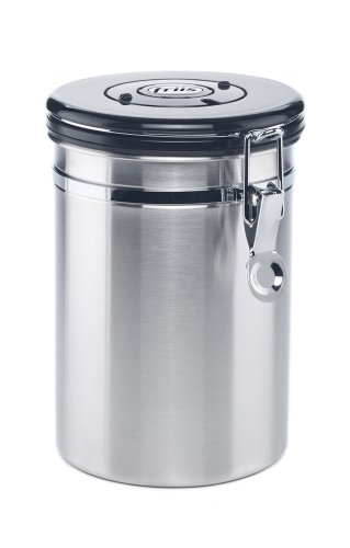 Friis 16-Ounce Coffee Vault, Stainless Protect