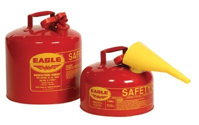 Type l Safety Cans - 5 gal safety can ul & fmapproved (Eagle Fuel Can compare prices)