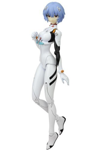 C: MO (Shimoo) Rebuild of Evangelion Ayanami Rei painted PVC action figure