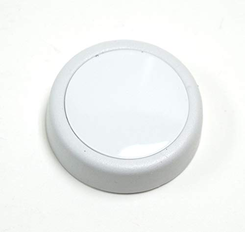 Timer Washer White - Whirlpool 3364291 Washer Timer Knob (White), 2x2x1,