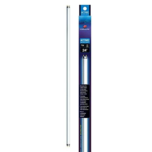 Coralife ACLAF830 Actinic 03 17-watt Fluorescent Aquarium Bulb, 24-Inch