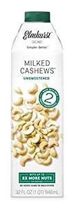 ELMHURST Unsweetened Cashew Milk, 946 ML