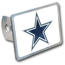 Dallas Cowboys Large Zinc Trailer Hitch Cover - NFL Football Fan Shop Sports Team Merchandise
