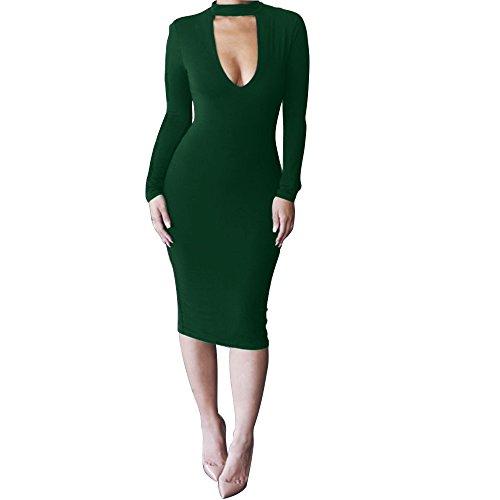 green new years dress - 5
