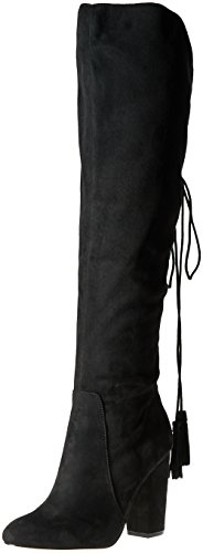 Boho-Chic Vacation & Fall Looks - Standard & Plus Size Styless - Betsey Johnson Women's Sasey Slouch Boot, Black, 7.5 M US