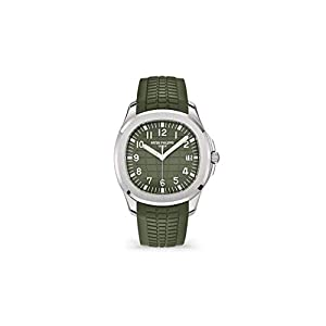Best Epic Trends 31Cv0BZP%2BmL._SS300_ Patek Philippe Aquanaut White Gold 5168G-010 with Khaki Green Embossed dial