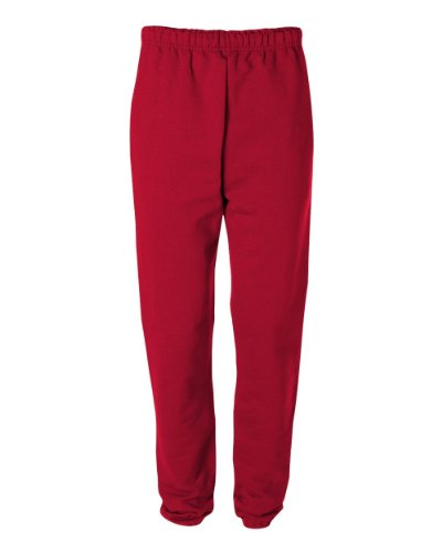 Jerzees Men's Super Sweatpants with Pocket (True Red/XX-Large) -