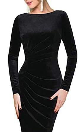 Dress long sleeve amazon midi bodycon services new
