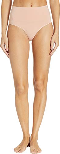 SPANX Women's Everyday Shaping Brief Vintage Rose Large