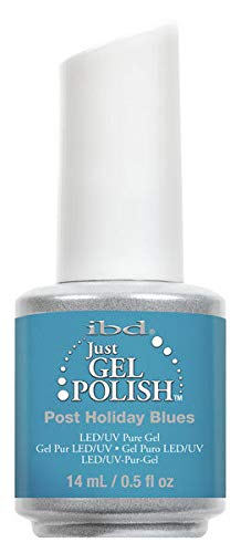 Holiday Enamel - ibd Just Gel Polish Post Holiday Blues - .5 fl oz