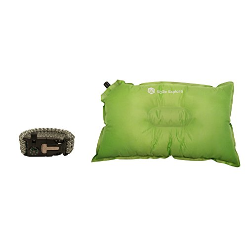 Best Quality Inflatable Pillow for Travel and Camping, Includes Bonus (Texas Tech Pool Table)