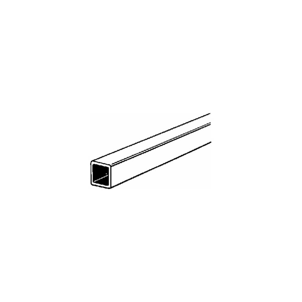 K & S Engineering 154 Brass Square Tubing (Pack of 6)
