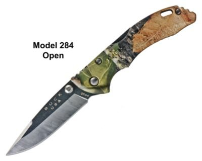 Buck Bantam Camo Drop Point Folding Knives