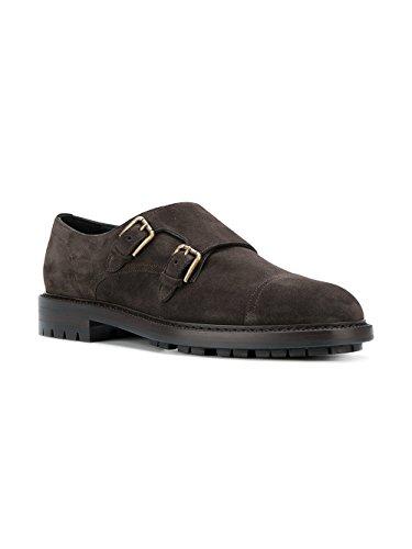 Dolce Monk Strap Gabbana Marrone amp; A10223AI37280051 Uomo Camoscio wTrqTxn7