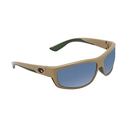 (Costa Del Mar Saltbreak Sunglasses (Sand, Gray Polarized Plastic)