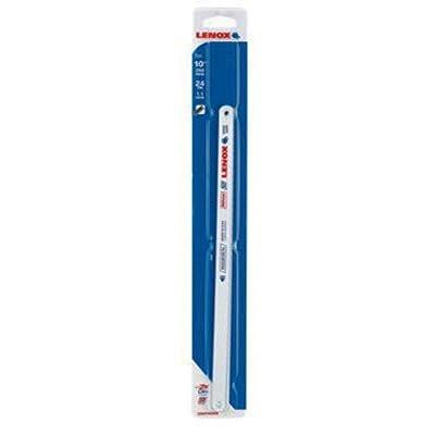LENOX Tools Bi-Metal Hacksaw Blades, Metal-Cutting, 10-inch, 24 TPI, 2-Pack (23930T024HE) from Lenox