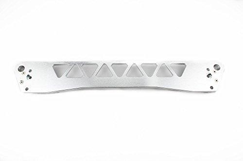 (Billet Rear Subframe Brace 92-95 Honda Civic 94-01 Acura Integra EG Color Silver)