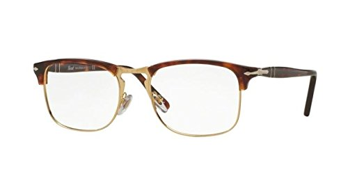 Persol - CELLOR SERIES PO 8359V, Geometric, acetate, men, HAVANA(24), - Po Persol