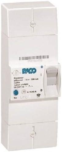 Legrand 21002 Disjoncteur de branchement EDF BACO diff 500 mA