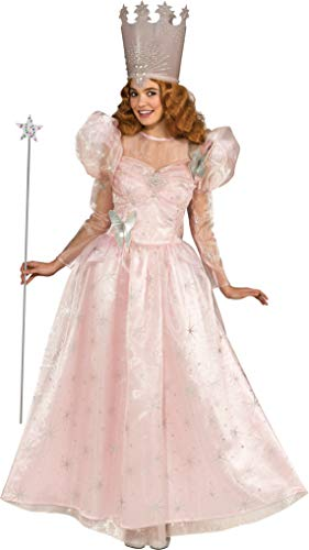 Rubie's Wizard Of Oz Deluxe Adult Glinda The Good Witch with Dress and Crown, Standard ()