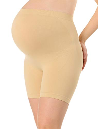 Motherhood Maternity Women's Maternity Secret Fit Shaper Panty, Nude, Small/Medium