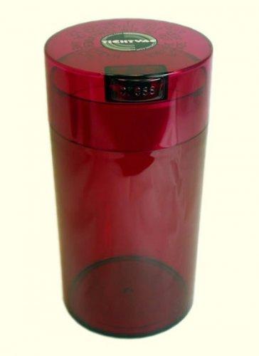 Pawvac 5+ Pound Vacuum Sealed Pet Food Storage Container; Black Cap & Clear Body/Black Paws