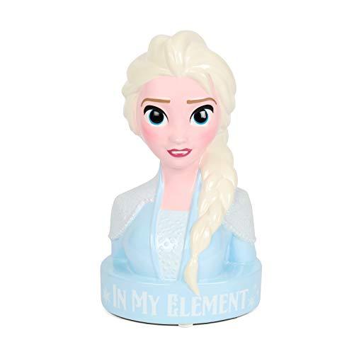 Disney Frozen 2 Elsa Figural Money Bank Ceramic 3D