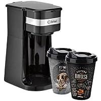 Kiwi KCM-7515 Premium Mini Muglı Filtre Kahve Makinesi, Siyah